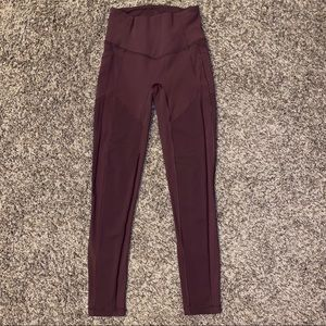 Lululemon Bordeaux Drama All The Right Places Pant